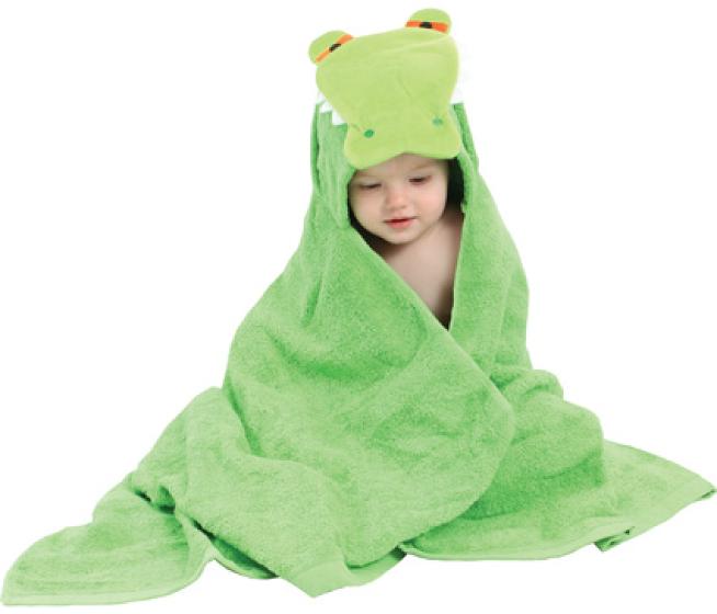 Alligator Hooded Towel 2