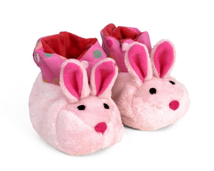 Bunny Baby Booties View 1