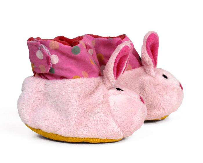 Bunny Baby Booties View 2