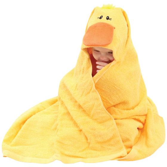Duck Hooded Bath Towel