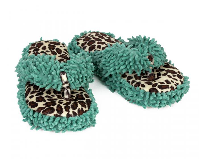 Leopard Spa Slippers View 1