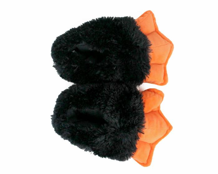 Kids Penguin Feet with Sound Top View