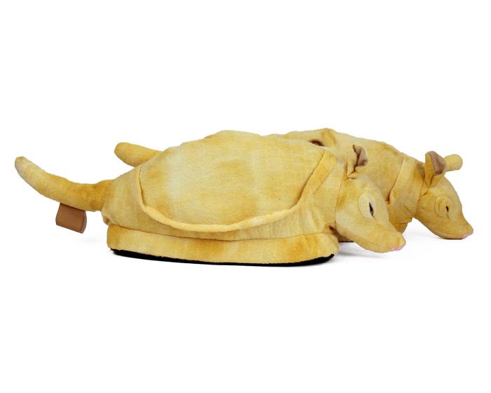 Armadillo Animal Slippers 2