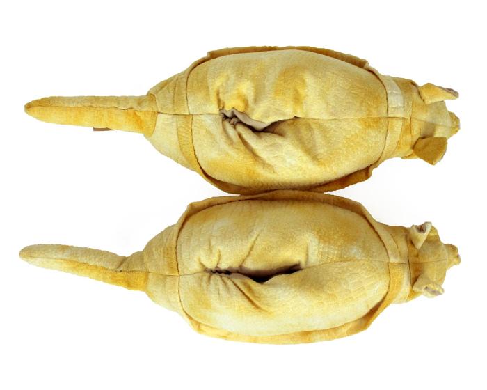 Armadillo Animal Slippers 4