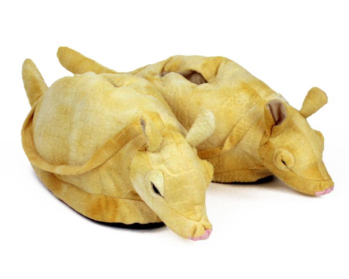 Armadillo Animal Slippers 1