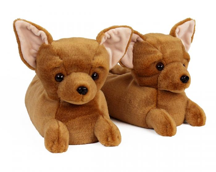 Chihuahua Slippers View 1