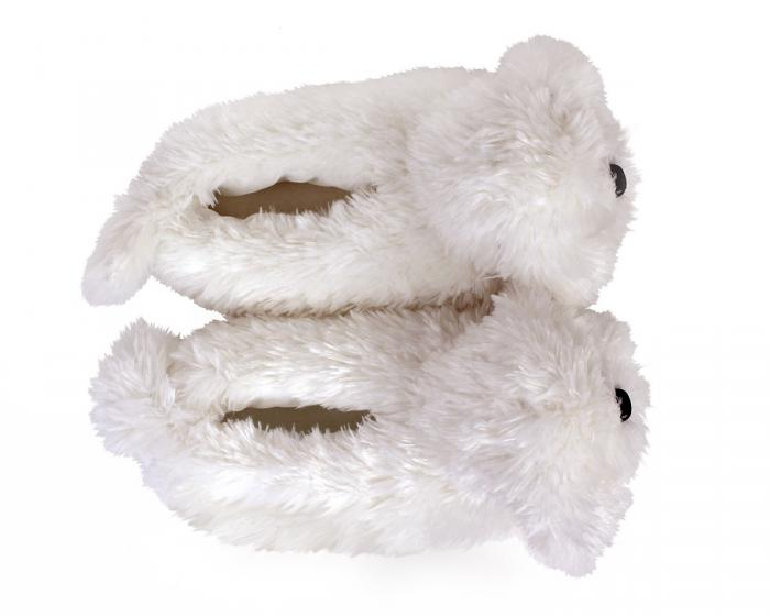 Bichon Frise Slippers Top View