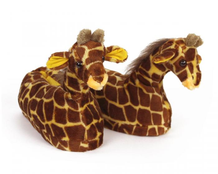 Giraffe Slippers 3/4 View