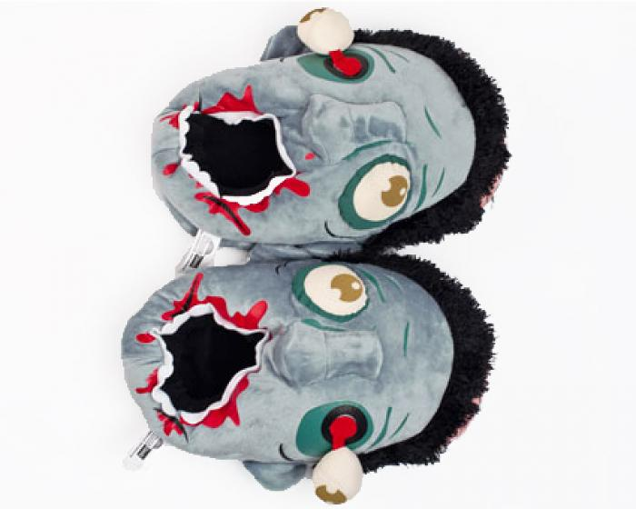 Blue Zombie Slippers 3