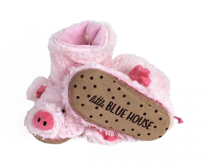 Kids Pig Slouch Slippers 3