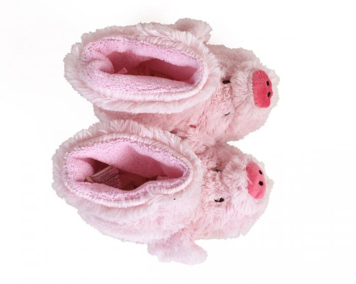 Kids Pig Slouch Slippers 4