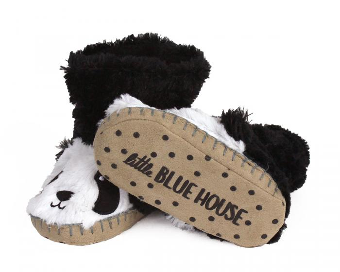 Kids Panda Slouch Slippers View 3