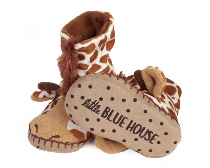 Kids Giraffe Slouch Slippers View 3