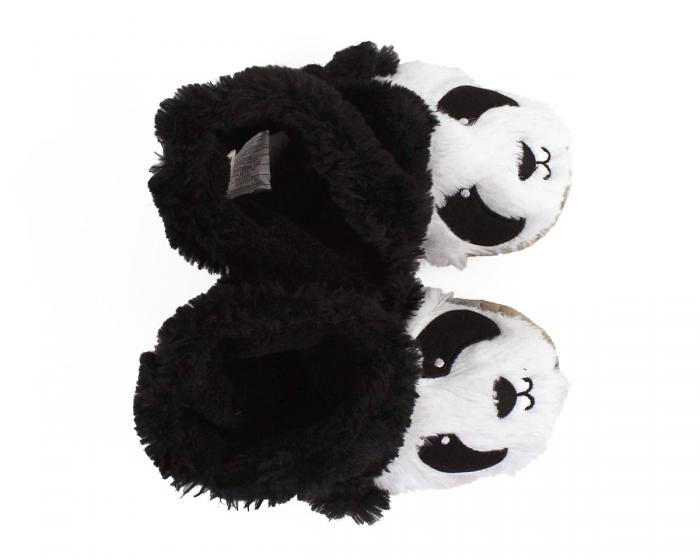 Kids Panda Slouch Slippers View 4