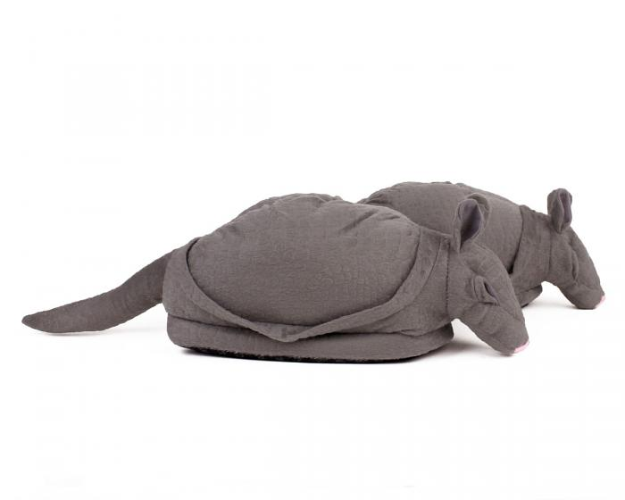 Armadillo Animal Slippers 2