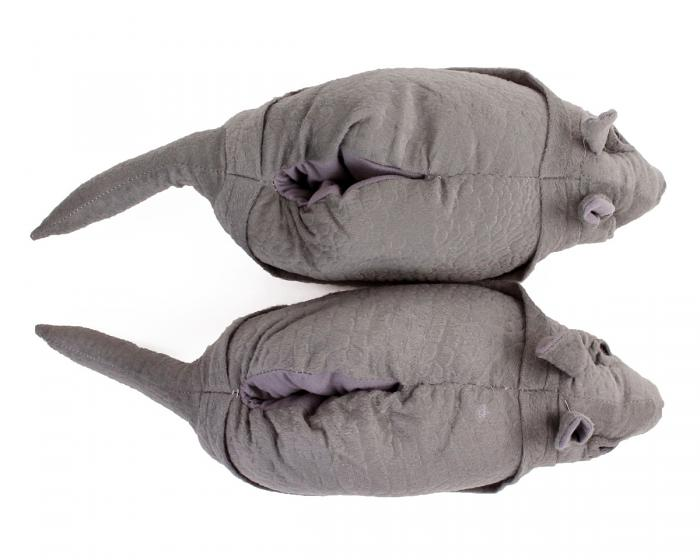 Armadillo Animal Slippers 4