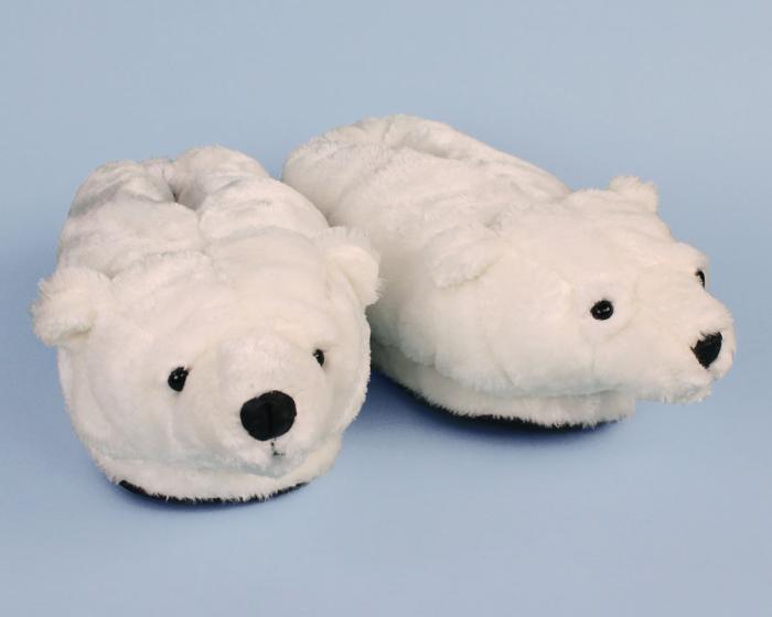 Polar Bear Slippers View 1
