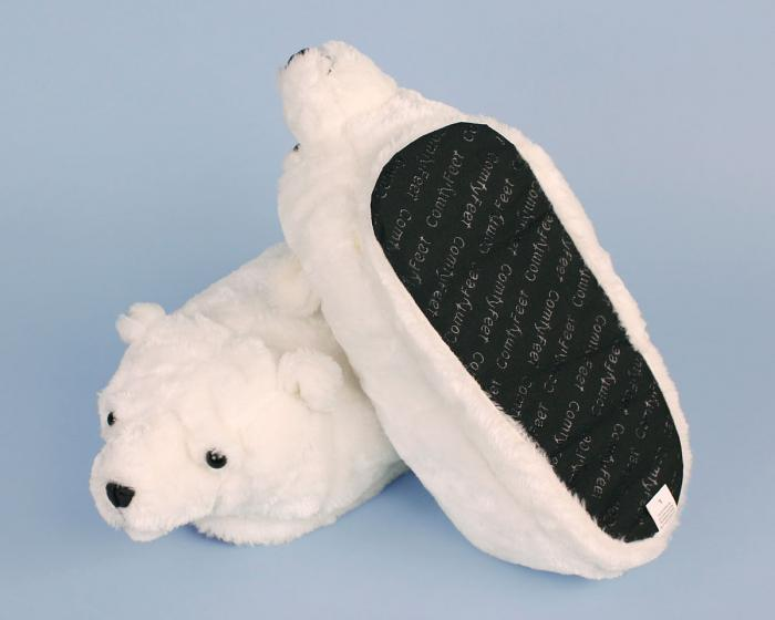 Polar Bear Slippers View 3