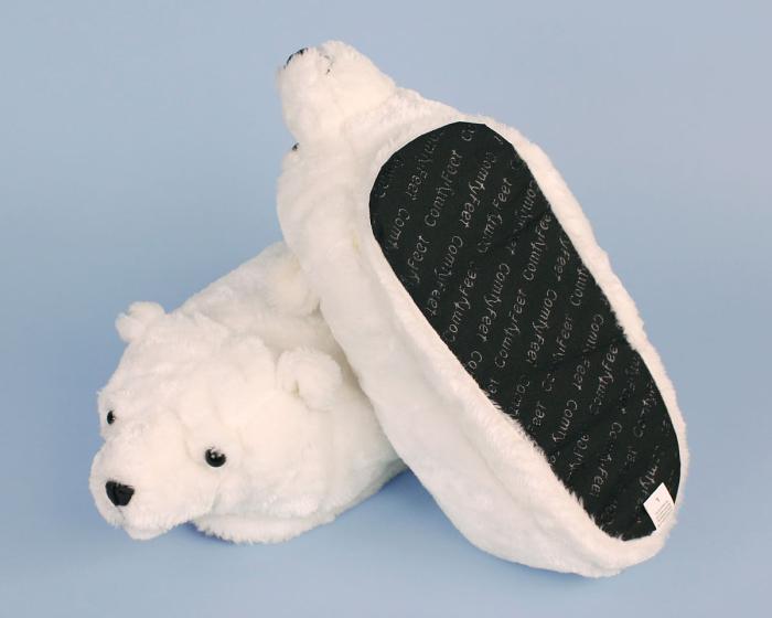Polar Bear Slippers View 3