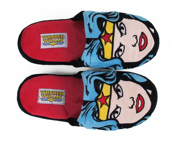 Wonder Woman Slippers Top View