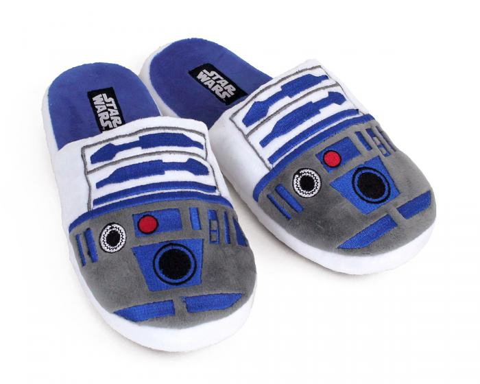 R2-D2 Slippers 3/4 View