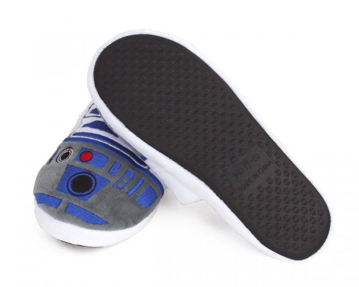 R2-D2 Slippers Bottom View
