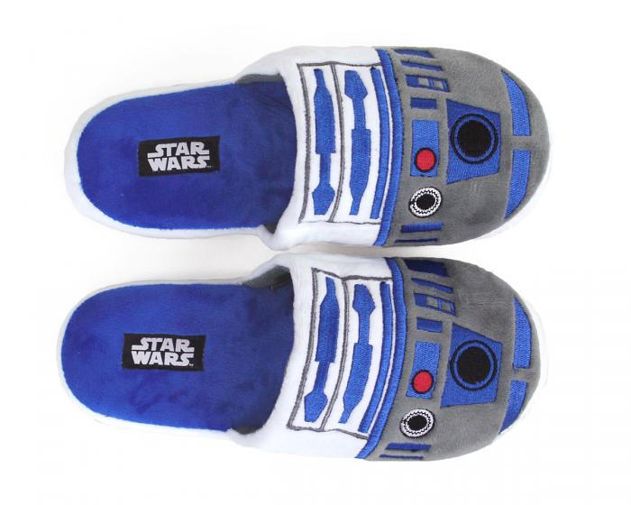 R2-D2 Slippers Top View