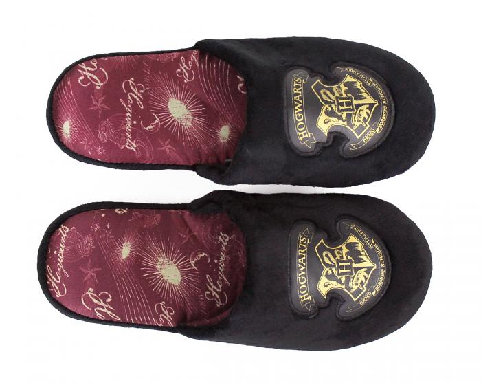 Hogwarts Slippers Top View