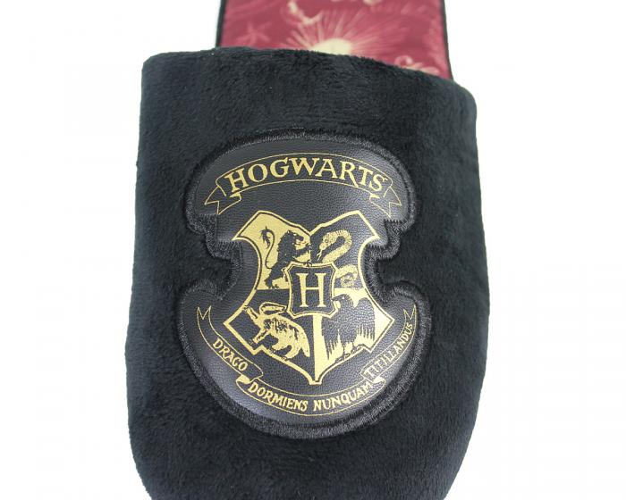 Hogwarts Slippers Detail View