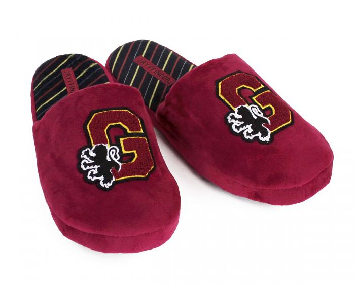 Harry Potter Gryffindor Slippers 3/4 View