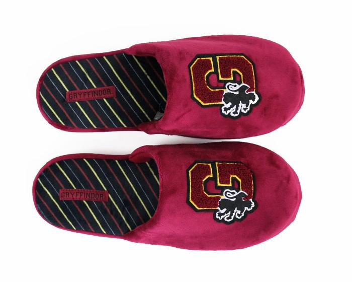Harry Potter Gryffindor Slippers Top View