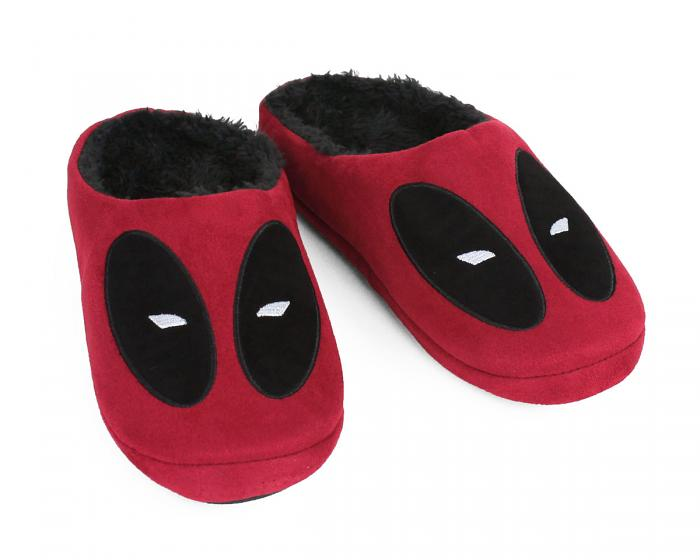 Deadpool Slippers 3/4 View