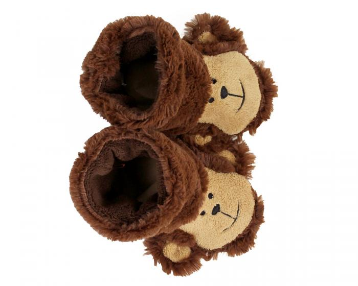 Kids Monkey Slouch Slippers View 3