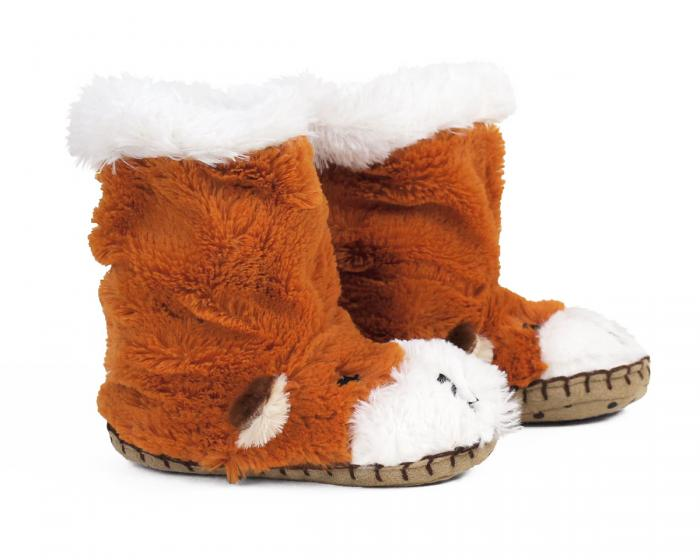 Kids Fox Slouch Slippers View 2