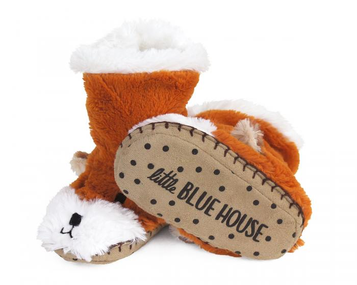 Kids Fox Slouch Slippers View 3