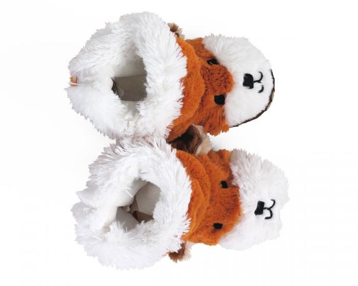 Kids Fox Slouch Slippers View 4