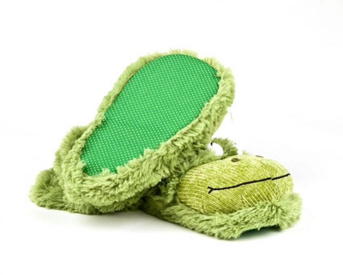 Fuzzy Frog Sock Slippers 3