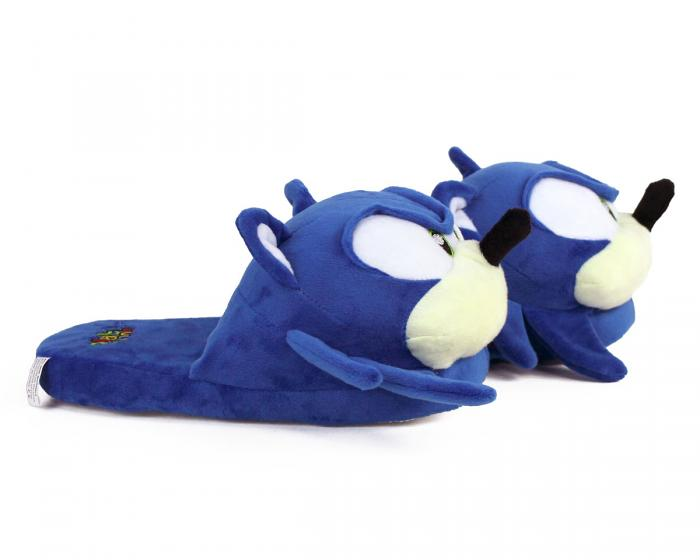 Sonic the Hedgehog Slippers Side View