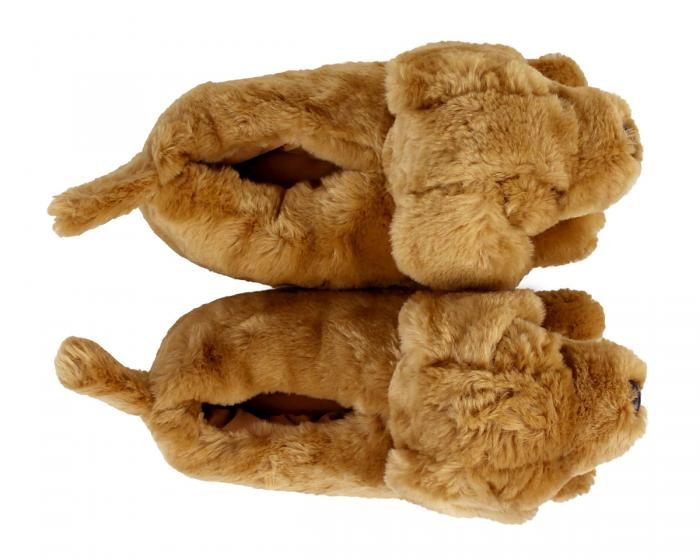 Golden Retriever Slippers View 3