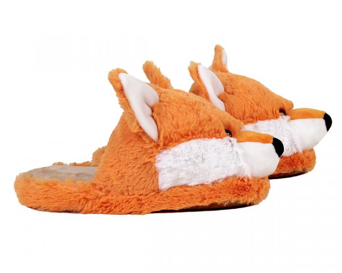 Fox Slippers Side View