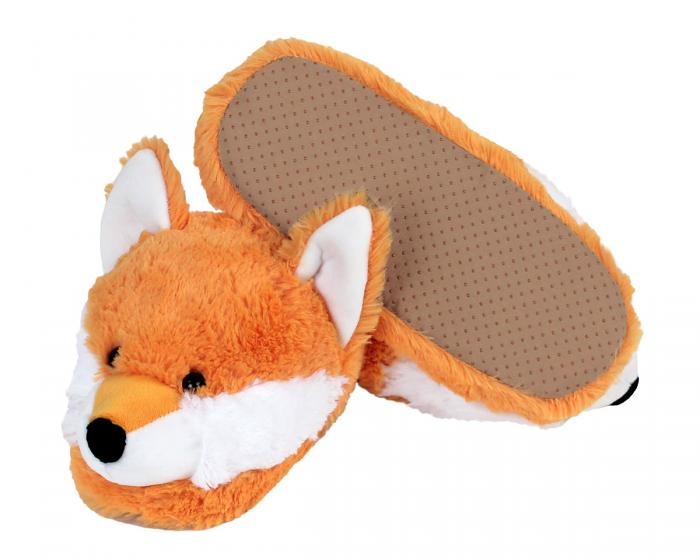 Fox Slippers Bottom View