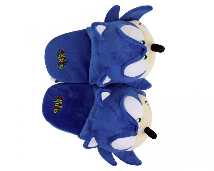 Sonic the Hedgehog Slippers Top View
