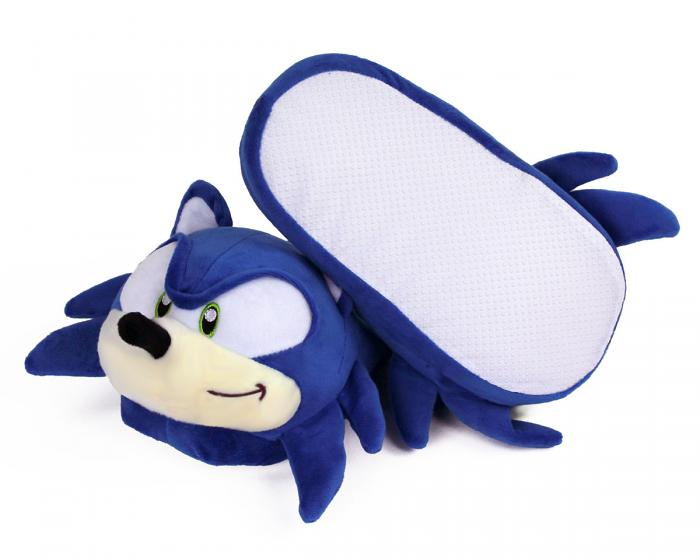 Sonic the Hedgehog Slippers Bottom View