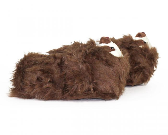 Sloth Slippers Side View