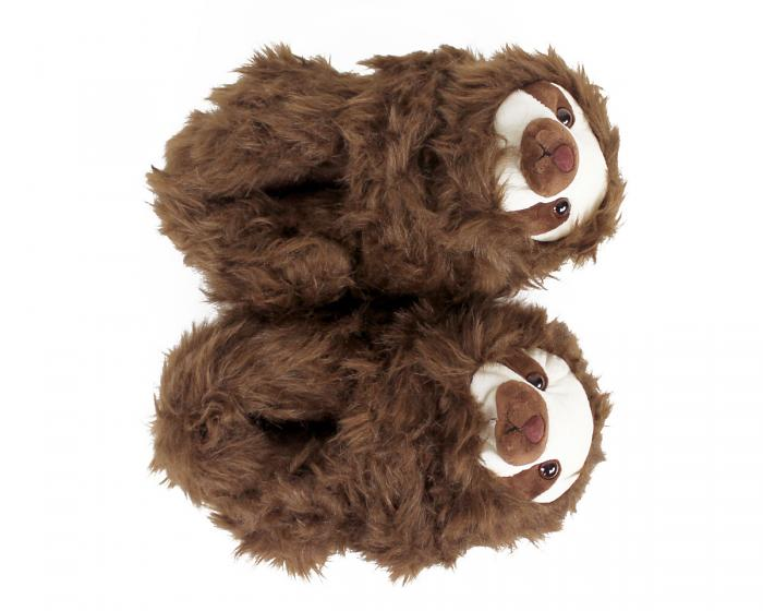 Sloth Slippers Top View