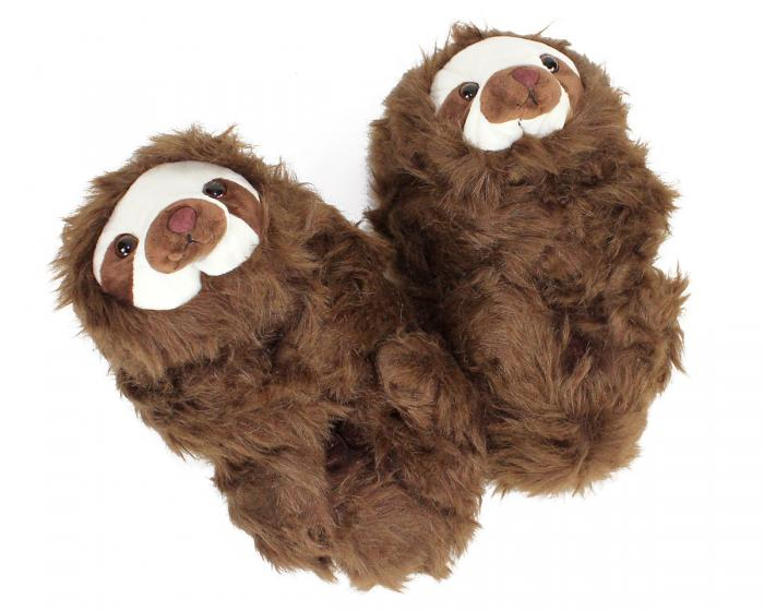 Sloth Slippers View 1