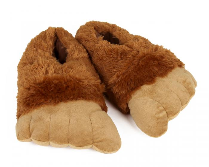 Big Foot Slippers 3/4 View