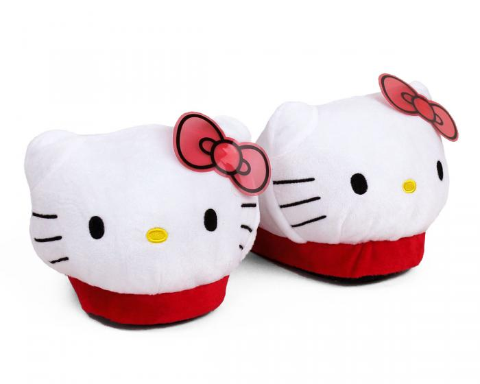 Hello Kitty Slippers 3/4 View