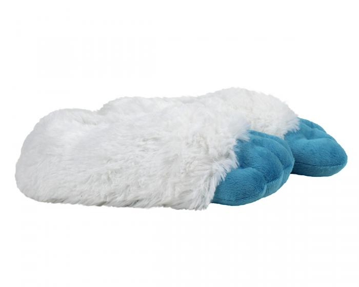Abominable Snowman Yeti Feet Slippers Side View