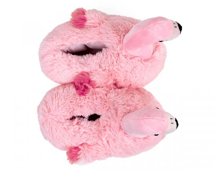 Flamingo Slippers Top View
